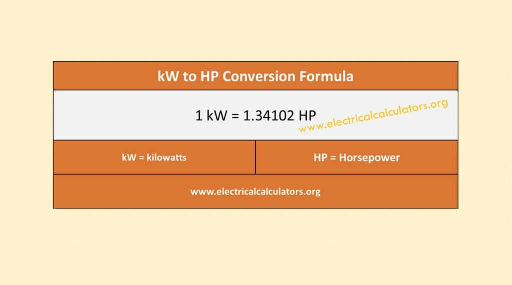 kw-hp-conversion-formula